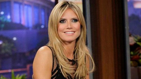 Heidi Klum appears on The Tonight Show on January 23, 2013. - Provided courtesy of NBC