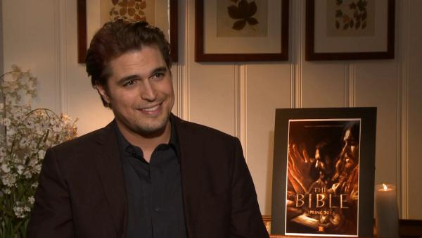 'The Bible's Diogo Morgado on getting Jesus role: I 'freaked out'