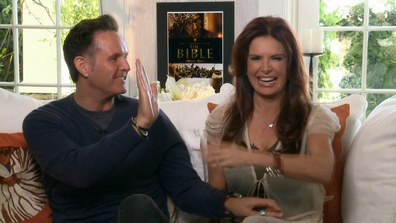 Roma Downey and Mark Burnett talk to OTRC.com about the History Channel miniseries The Bible, which premiered on March 3, 2013.