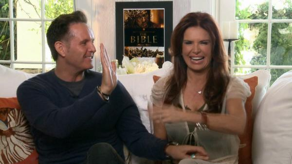 'The Bible's Roma Downey: We prayed for Diogo Morgado ('Jesus')