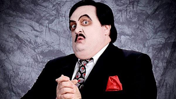 William Moody appears as Paul Bearer in a WWE publicity photo. - Provided courtesy of WWE