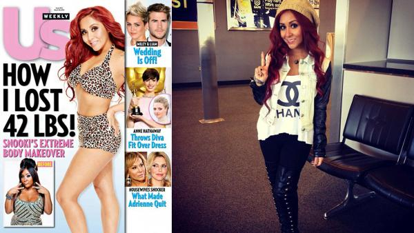 Snooki appears on the March 2013 cover of Us Weekly. / The reality star appears in a photo posted on her official Instagram account on March 4, 2013. - Provided courtesy of Us Weekly / http://instagram.com/snookinic
