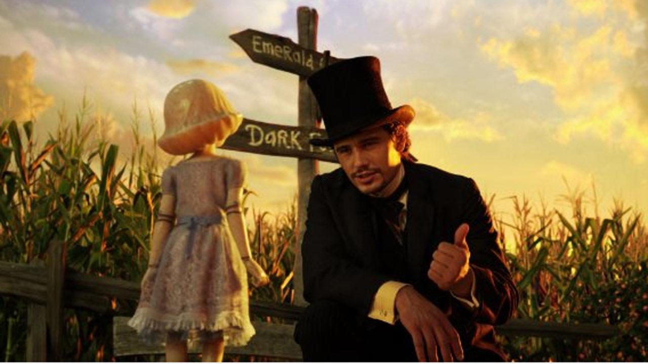 James Franco appears in a scene from the film Oz the Great and Powerful.