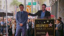 Seth Rogen speaks at James Francos Hollywood star ceremony in Los Angeles on March 7, 2013. - Provided courtesy of OTRC