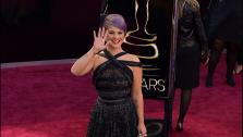 Kelly Osbourne walks the red carpet at the 2013 Oscars on Sunday, February 24. - Provided courtesy of OTRC