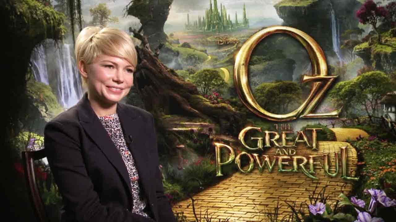 Michelle Williams talks to OTRC.com after the premiere of Oz the Great and Powerful in Los Angeles on Feb. 16, 2013.