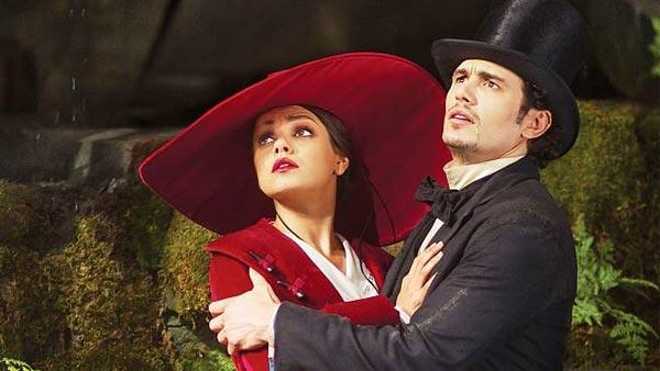 Mila Kunis and James Franco appear in a scene from the 2013 film Oz the Great and Powerful. - Provided courtesy of Walt Disney Pictures