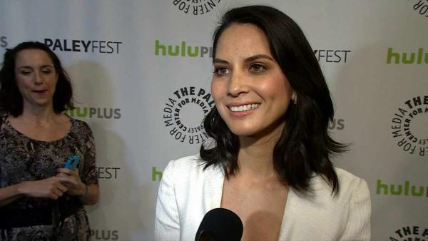 Olivia Munn talks news and 'Newsroom'