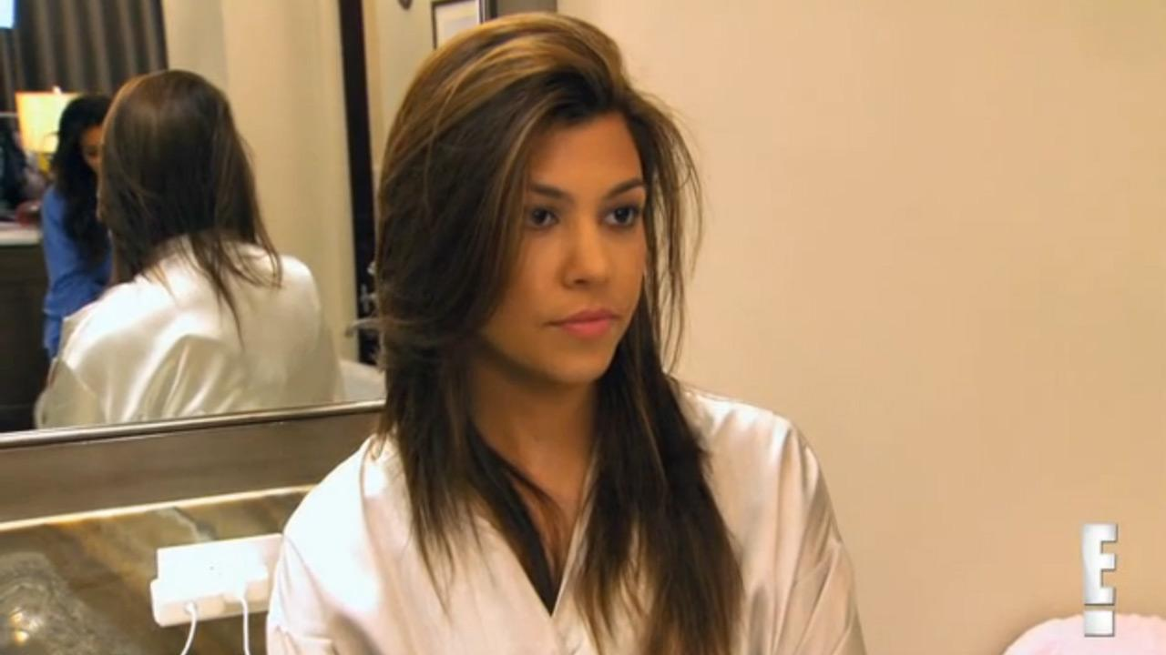 Kourtney Kardashian appears in a still from the March 10 episode of Kourtney and Kim Take Miami.