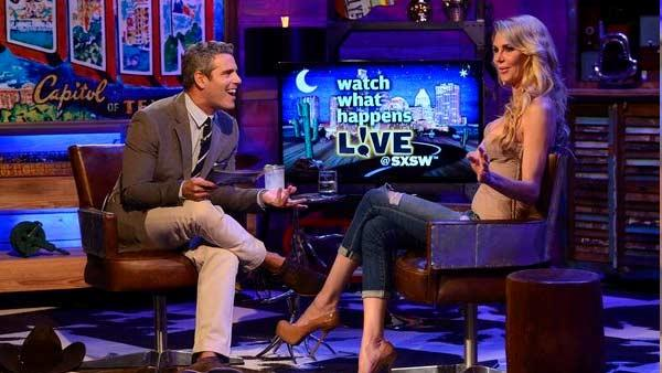 Brandi Glanville appears on Watch What Happens Live on March 11, 2013. - Provided courtesy of Bravo