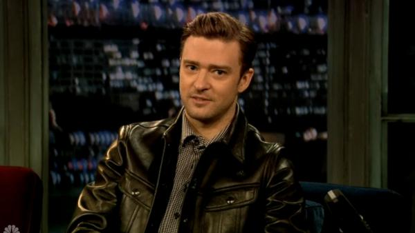 Justin Timberlake appears on Late Night with Jimmy Fallon on March 11, 2013. - Provided courtesy of NBC