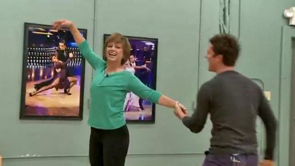 Dorothy Hamill admits she's 'not really' graceful