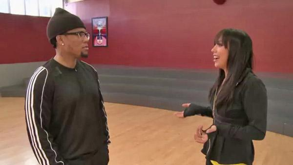 D.L. Hughley rehearses for 'DWTS'