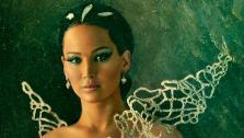 Jennifer Lawrence poses as Katniss Everdeen in The Capitol Portraits Series for The Hunger Games: Catching Fire due out on November 22, 2013. - Provided courtesy of Lionsgate
