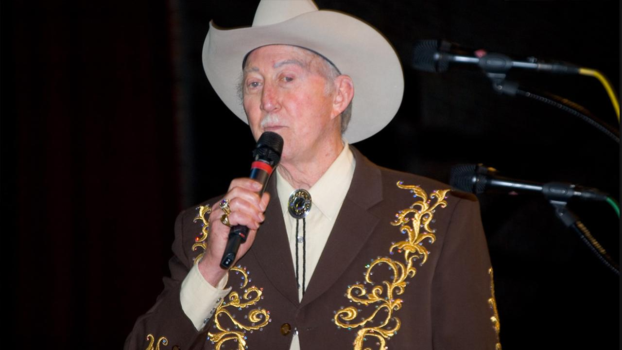 Jack Greene appears in concert at the Grand Ole Opry in Nashville, Tennessee on April 22, 2006.flickr.com/photos/joshbousel/