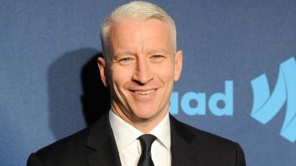 CNN news anchor and honoree Anderson Cooper attends the 24th Annual GLAAD Media Awards at the Marriott Marquis on Saturday March 16, 2013 in New York. - Provided courtesy of Evan Agostini / AP