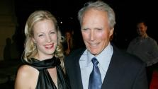 Clint Eastwood walks the Rails and Ties red carpet with his daughter Alison on October 23, 2007. - Provided courtesy of AP / AP Photo / Tammie Arroyo