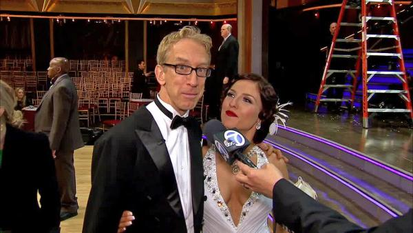 Andy Dick interview after 'DWTS' premiere (Video)