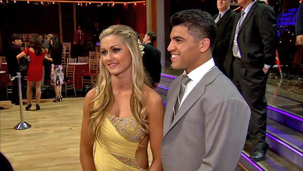 Victor Ortiz interview after 'DWTS' premiere (Video)