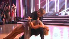 Kellie Pickler and Derek Hough appear on the Dancing With The Stars season 16 premiere on March 18, 2013. - Provided courtesy of ABC