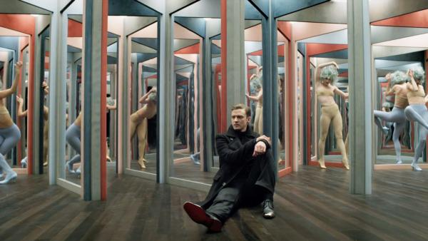 Justin Timberlake appears in a scene from her 2013 music video Mirrors. - Provided courtesy of RCA Records