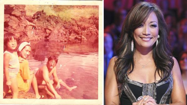 Carrie Anne Ibana Tweeted an image of her father, who passed away just days before the Dancing With The Stars premiere. - Provided courtesy of twitter.com/carrieanninaba / ABC