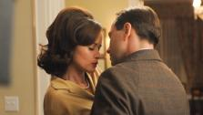 Vincent Kartheiser and Alexis Bledel appear in a 2012 episode of the AMC show Mad Men. - Provided courtesy of Michael Yarish / AMC