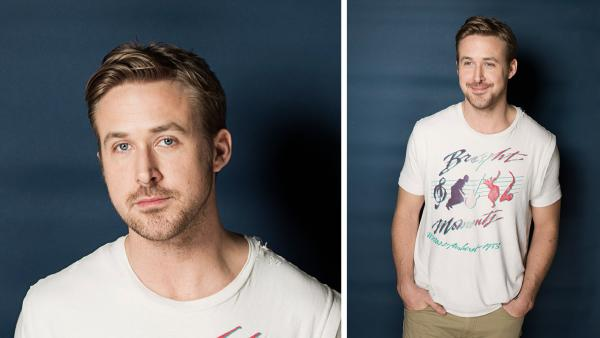 Ryan Gosling poses for a portrait in New York March 10, 2013. - Provided courtesy of Victoria Will / Invision / AP