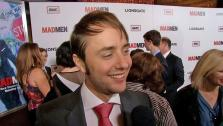 Vincent Kartheiser, also known as Mad Mens Pete Campbell, talks to OnTheRedCarpet.com at the March 2013 premiere of the shows sixth season. - Provided courtesy of OTRC