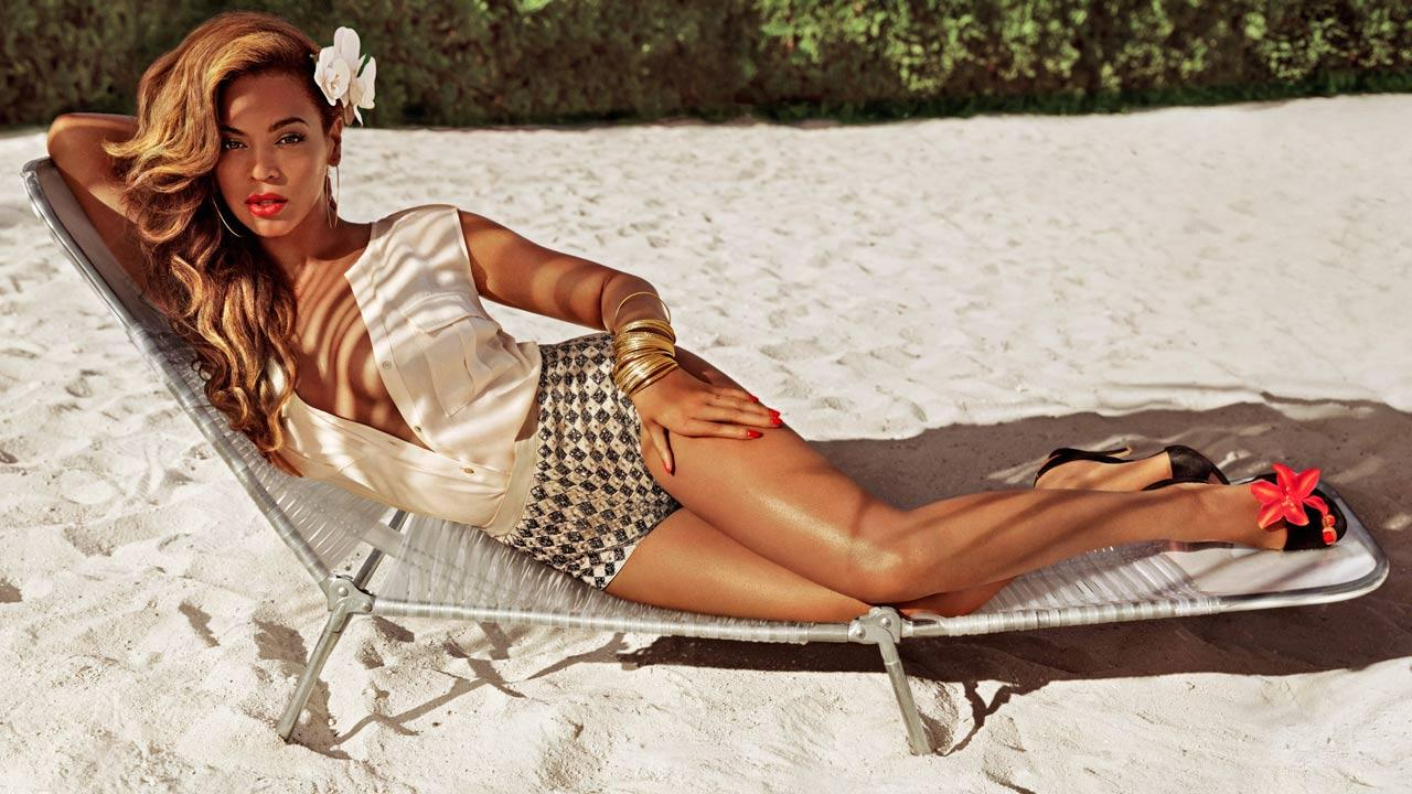 Singer Beyonce Knowles appears in a photo from H&Ms summer 2013 ad campaign released on March 21, 2013.