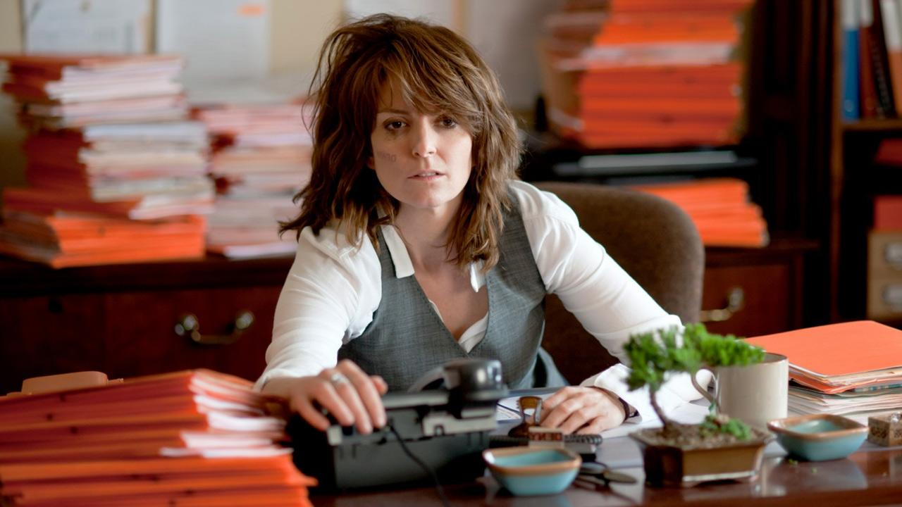 Tina Fey in a scene from the 2013 film, Admission.