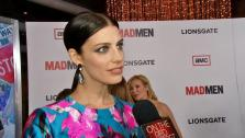 Jessica Pare talks to OTRC.com at the premiere of Mad Men season 6 in Los Angeles on March 20, 2013. - Provided courtesy of OTRC