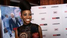 Teyonah Parris talks to OTRC.com at the premiere of Mad Men season 6 in Los Angeles on March 20, 2013. - Provided courtesy of OTRC