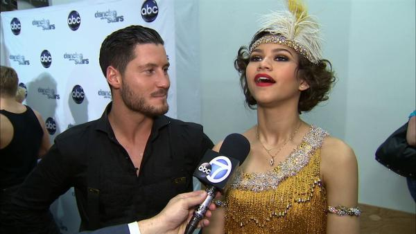 'Dancing With The Stars' contestant Zendaya Coleman speaks after season 16's second week of performances on March 25, 2013.