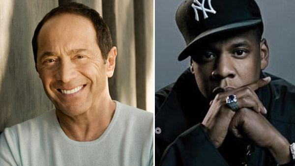 Jay-Z appears in an undated photo posted on his MySpace page. / Paul Anka appears in a photo from his official Facebook account. - Provided courtesy of myspace.com/jayz / facebook.com/paulanka