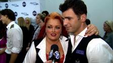 Dancing With The Stars contestant Wynonna Judd speaks after season 16s first elimination on March 26, 2013. - Provided courtesy of OTRC