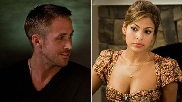 Ryan Gosling appears in a still from the 2011 film, Crazy, Stupid, Love. / Eva Mendes appears in a photo from her film The Other Guys. - Provided courtesy of Warner Bros. Entertainment / Ben Glass / Columbia Pictures