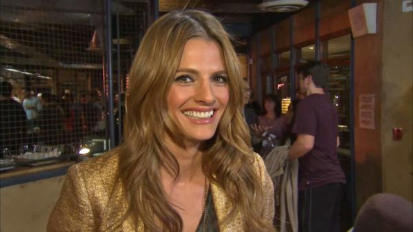 Stana Katic appears in an interview with OTRC.com on Feb. 27, 2013. - Provided courtesy of OTRC