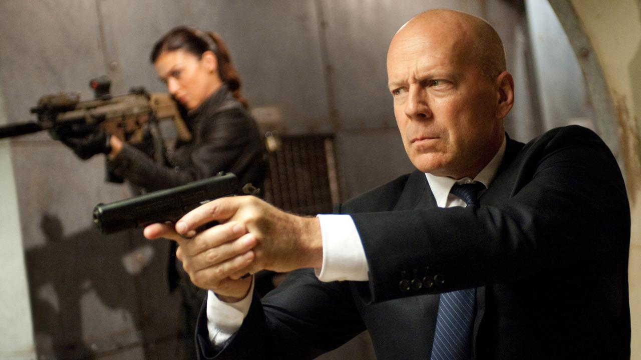 Bruce Willis appears in scenes from the 2013 movie G.I. Joe: Retaliation.