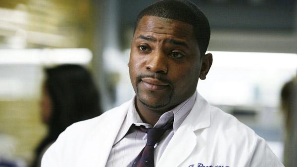 Mekhi Phifer appears in a still from his long-running role on the television series ER. - Provided courtesy of Constant c Productions / John Wells Productions,