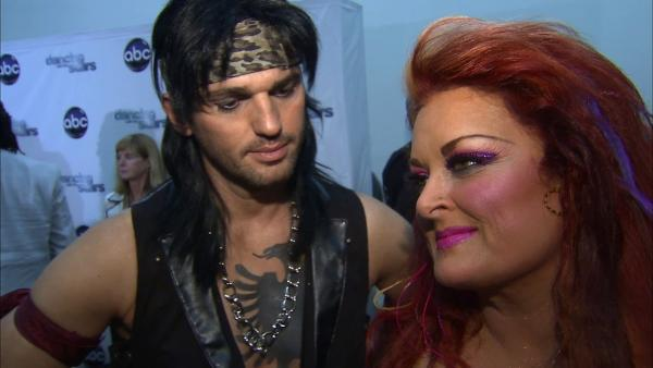 Dancing With The Stars contestant Wynonna Judd speaks after season 16s third week of performances on April 1, 2013. - Provided courtesy of OTRC