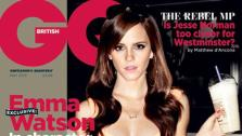 Emma Watson appears on the cover of British GQs May 2013 issue. - Provided courtesy of Conde Nast
