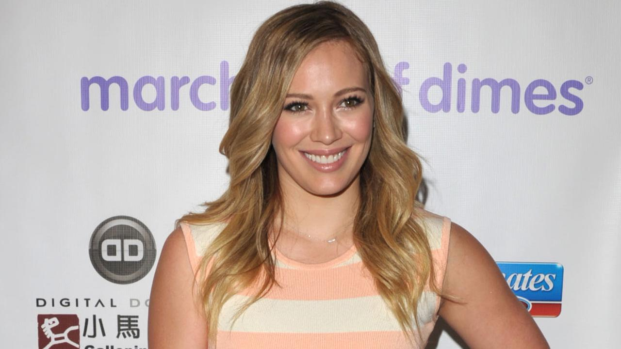 Hilary Duff arrives to the March of Dimes Celebration of Babies on Friday, Dec. 7, 2012, in Beverly Hills, Calif.