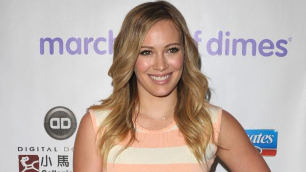 Hilary Duff arrives to the March of Dimes Celebration of Babies on Friday, Dec. 7, 2012, in Beverly Hills, Calif. - Provided courtesy of John Shearer/Invision/AP