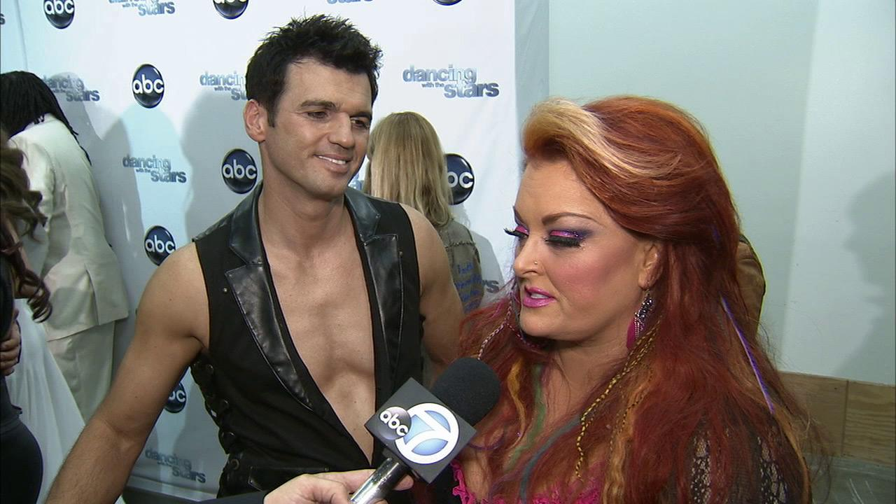 Dancing With The Stars contestant Wynonna Judd speaks after season 16s week 3 elimination on April 3, 2013.