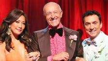 Judges Carrie Ann Inaba, Len Goodman, Bruno Tonioli appear on Dancing With The Stars on April 1, 2013. - Provided courtesy of ABC