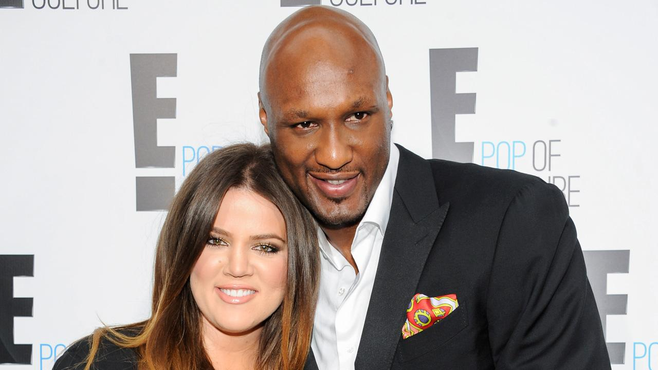 Khloe Kardashian Odom and Lamar Odom from the show Keeping Up With The Kardashians attend an E! Network upfront event at Gotham Hall on Monday, April 30, 2012 in New York.