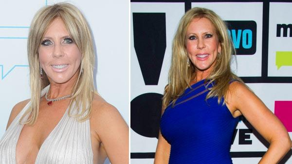 Gunvalson arrives at the Bravo Medias 2011 upfront presentation on March 30, 2011 in Los Angeles, Calif./ The Real Housewives of Orange County cast member Vicki Gunvalson appears on Watch What Happens Live on April 1, 2013. - Provided courtesy of Bravo / AP Photo/Katy Winn