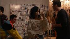Michael Cera and Rihanna appear in a scene from the 2013 film This Is The End. - Provided