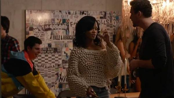 Michael Cera and Rihanna appear in a scene from the 2013 film This Is The End. - Provided courtesy of Sony Pictures Entertainment